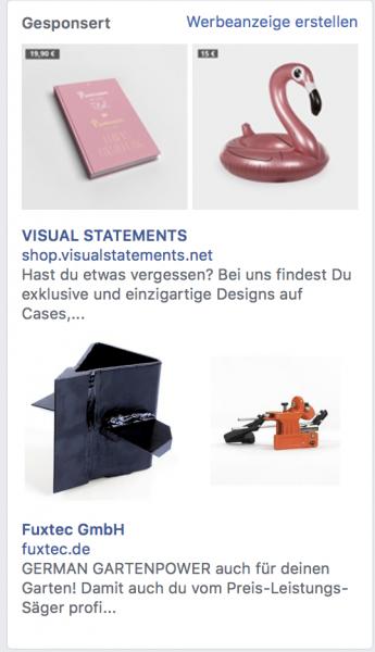 Facebook Dynamic Ads Produktfeed