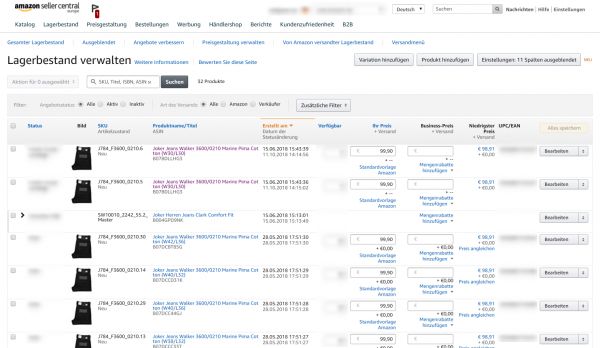 Amazon Produkt Listingoptimierung
